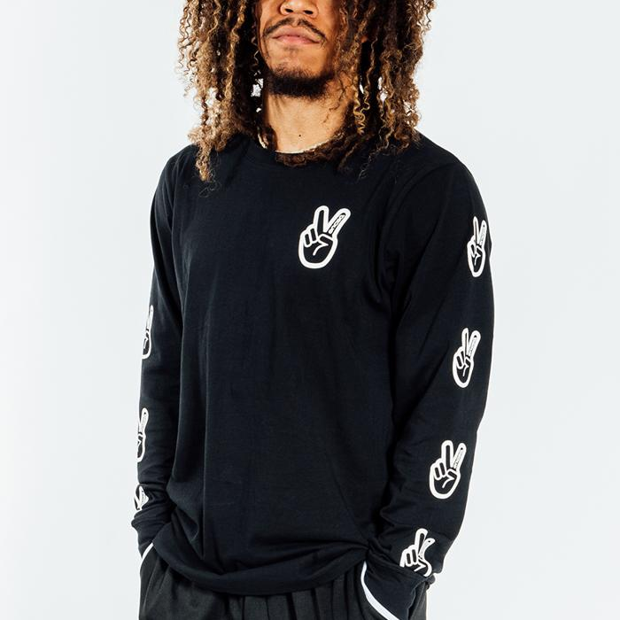 Deuce Brand Long Sleeve Tee Basketball NBA Kyrie Irving
