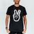 Deuce Brand basketball tshirt black NBA Peace Logo