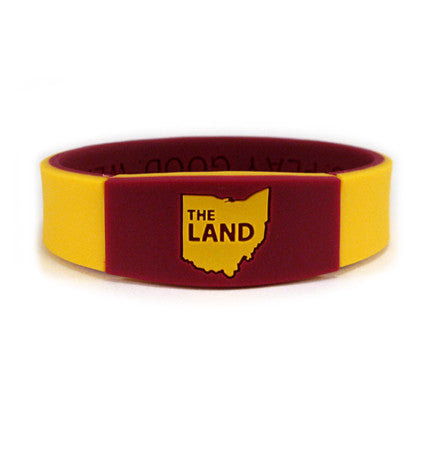 "Deuce Premium Wristband ""The Land"" - Deuce Brand - 1"