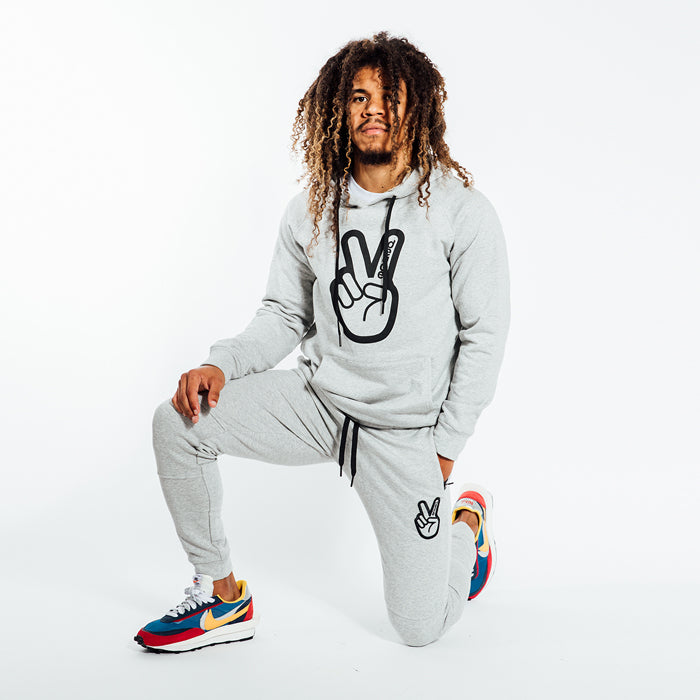Deuce Brand basketball track suit grey nba