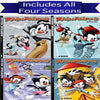 Animaniacs DVD Series Seasons 1-4 Set Warner Brothers DVDs & Blu-ray Discs > DVDs