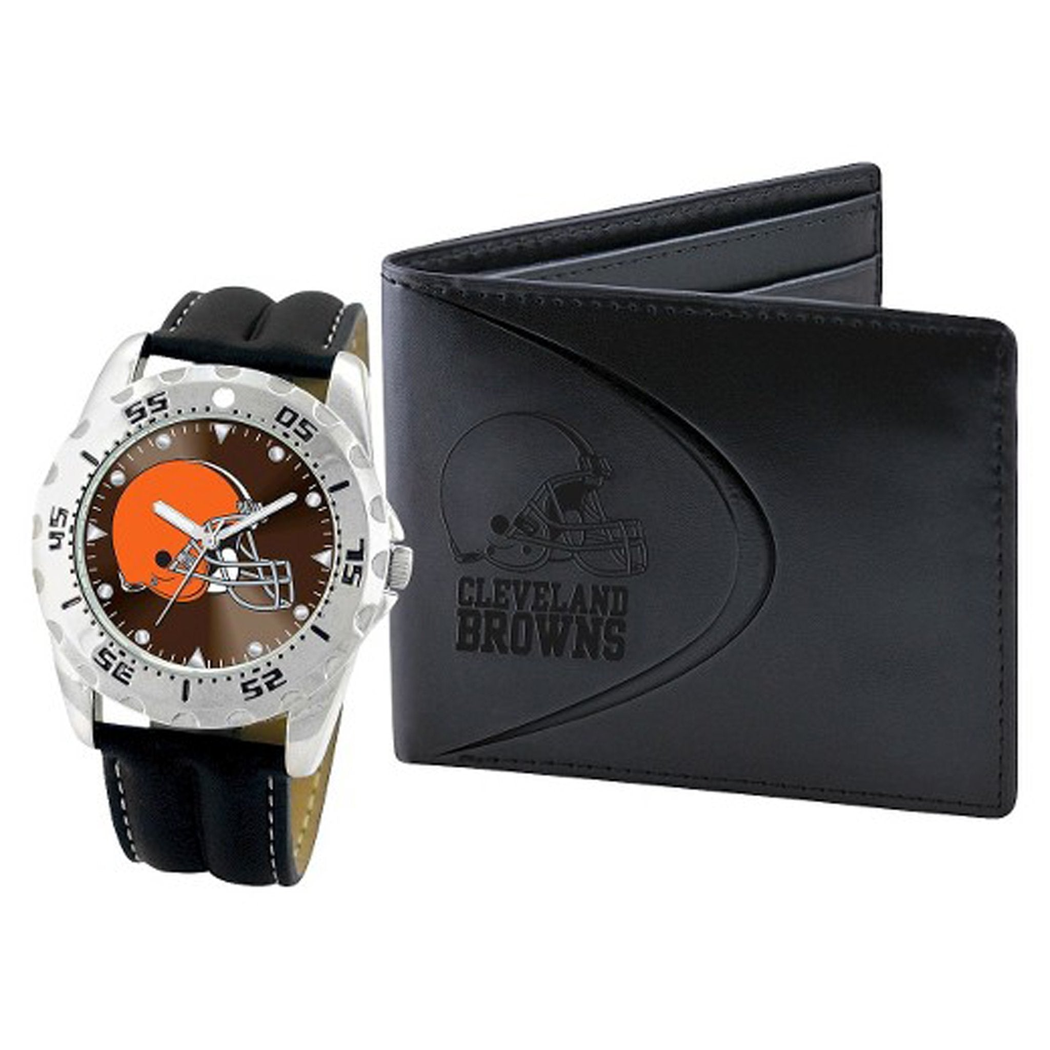 NFL Cleveland Browns Men's Watch & Wallet Set