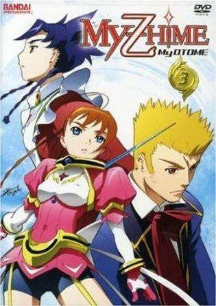My-Hime Z: My-Otome, Vol. 3