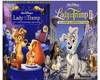 Walt Disney's Lady and the Tramp 1&2 DVD Set 2 Movie Collection Walt Disney DVDs & Blu-ray Discs > DVDs