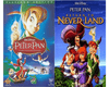 Walt Disney's Peter Pan 1&2 DVD Set 2 Movie Collection Walt Disney DVDs & Blu-ray Discs > DVDs