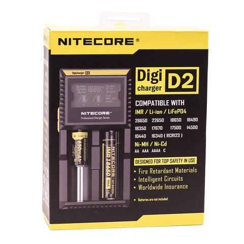 Nitecore D2 - Battery Charger