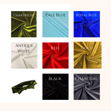 Women's Bow Headbands in many colors of Stretch Velvet