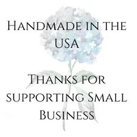 Handmade thank you for supporting small business