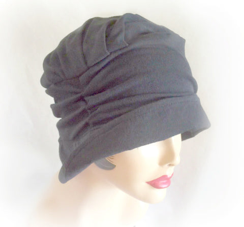 Soft and Comfortable Jersey Hat with Small Brim | The Alice
