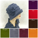 Boston Millinery Alice fleece color chart