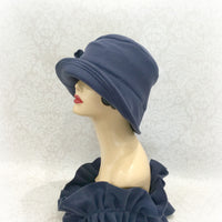 Women's Cloche in Soft Warm Fleece -  Elegant Winter Fashion | The Alice
