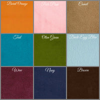 Fleece hat color choices Boston Millinery