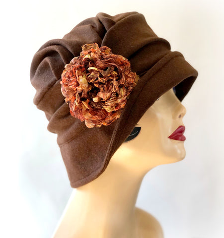 Custom Cloche For Ann | The Alice in Brown Wool