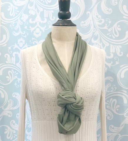 Infinity Fashion Scarf in Soft Bamboo Jersey