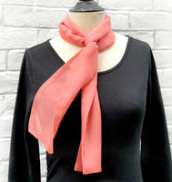 Living Coral Women's Scarf Boston Millinery