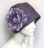 Flapper Style Linen Cloche | The Eleanor