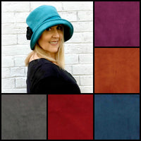 teal velour velvet cloche color chart