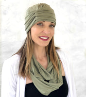 Fashion Turban in Soft Sustainable Bamboo |The Evie