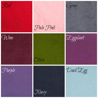 boston millinery fleece colors