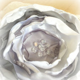 Satin Flower Brooch - Fascinator - Corsage
