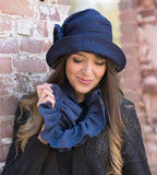 Ruffled Fleece Infinity Scarf Choose your Color