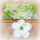Floral Special Occasion Purse with removable Flower | Wristlets and Purses
