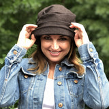Vintage Style Hat in Brown Wool | The Alice Cloche