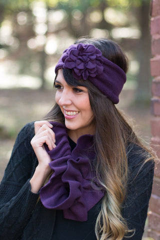 Winter Fleece Headband Available in Many Colors | Boston Millinery