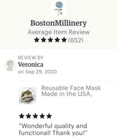 Handmade Linen Face Masks | Washable and Reusable