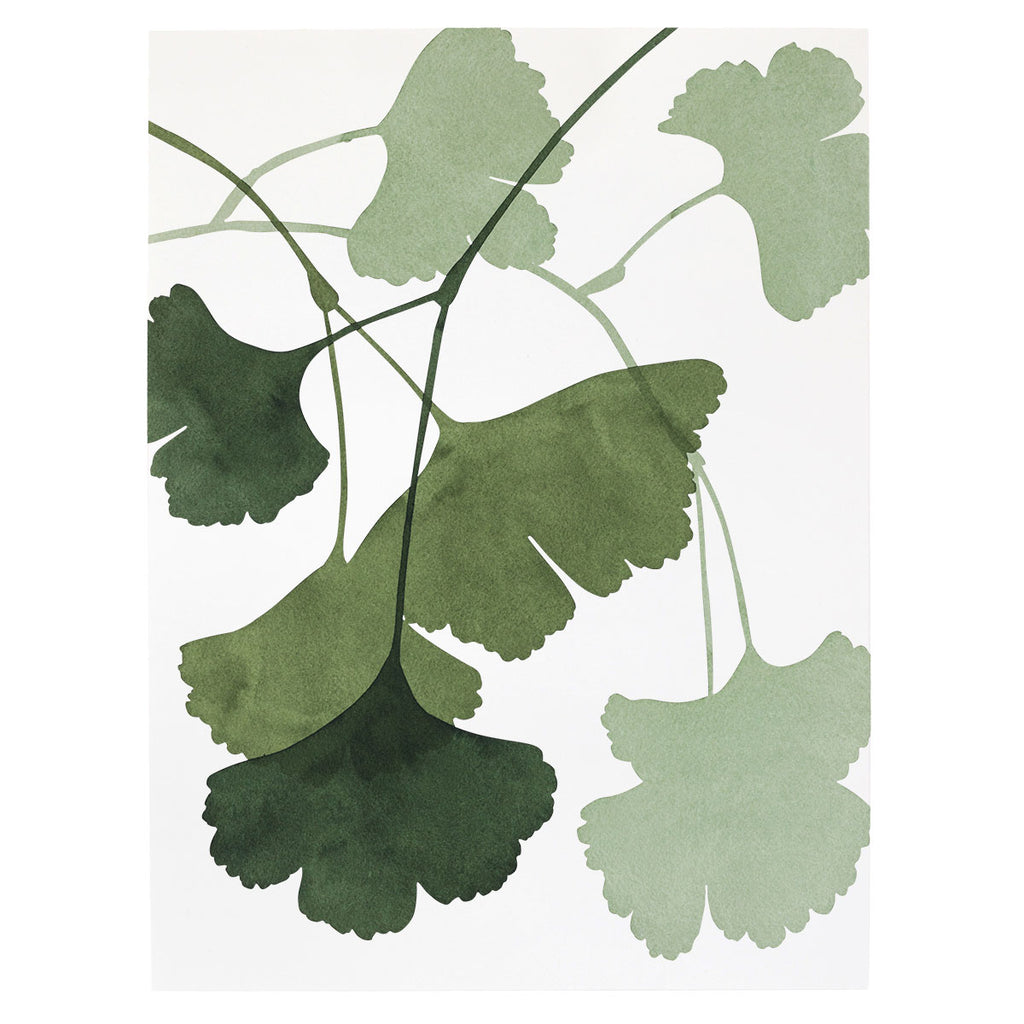 """Gingko Composition 2"" Print"