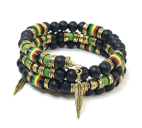 Jamaican Bracelet, Multilayer Bracelet