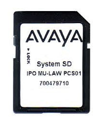 Avaya 700479710 - IP500 V2 System SD Card MU-LAW