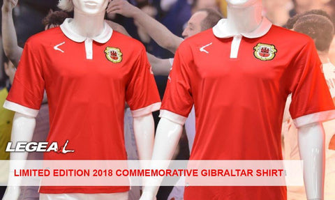 2018 Commemorative Gibraltar Shirt