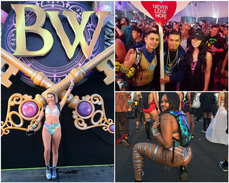 Best Rave Outfits from Beyond Wonderland SoCal 2017