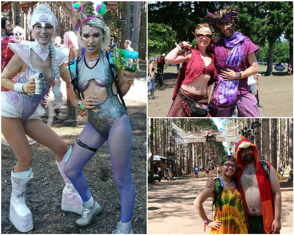 Electric Forest 2017 Outfits and Trends