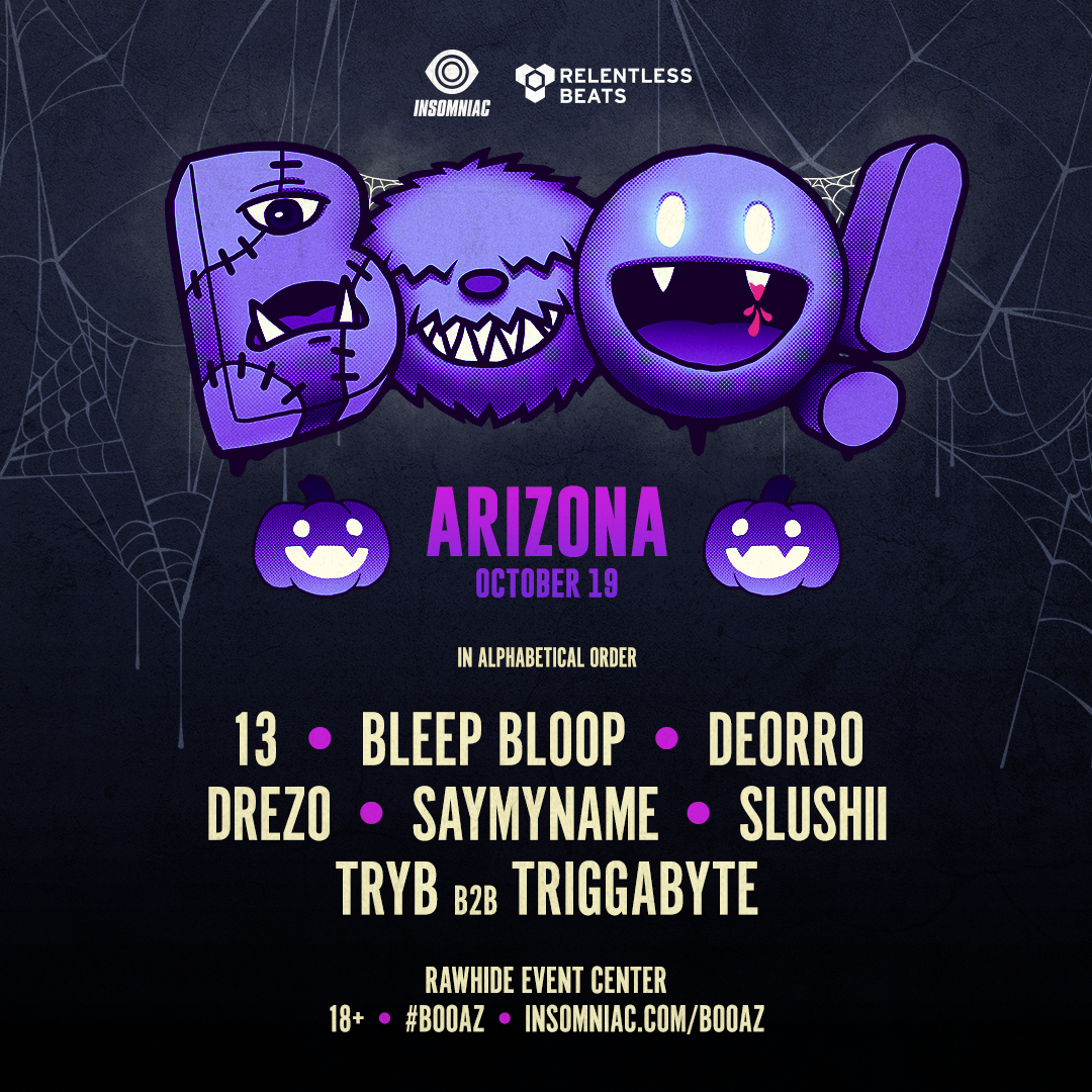 Boo! Arizona Halloween Rave 2019