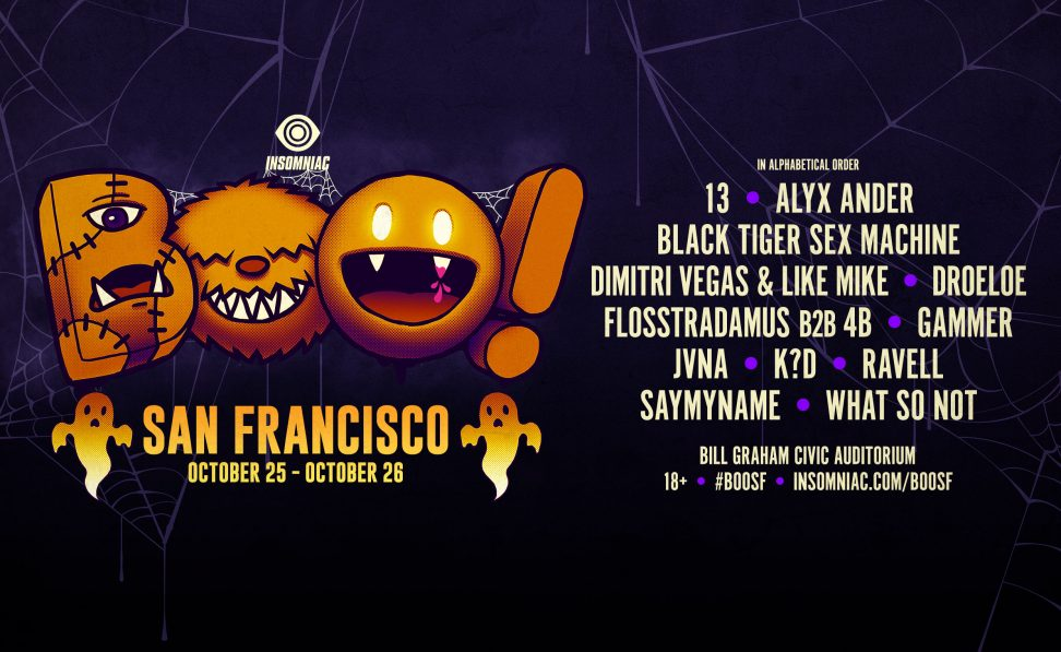 Boo! San Francisco Halloween Rave 2019