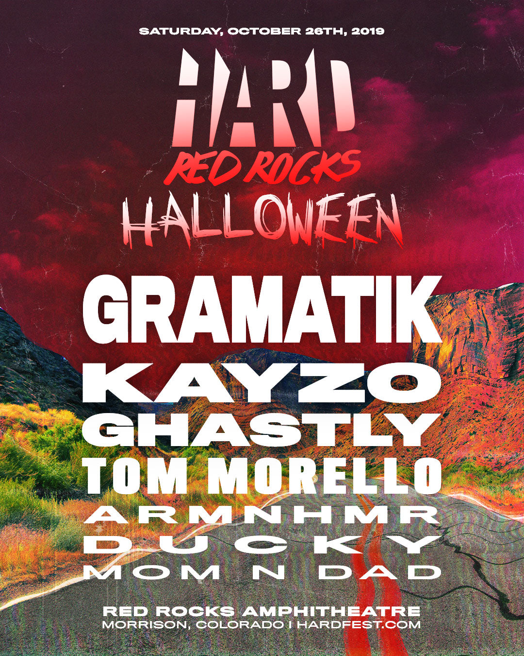 HARD Red Rocks Halloween Rave 2019