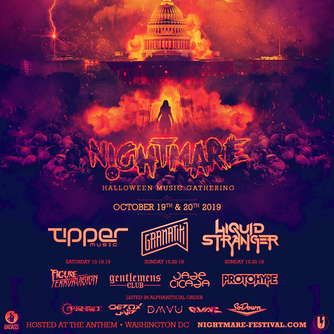 Nightmare Halloween Rave 2019
