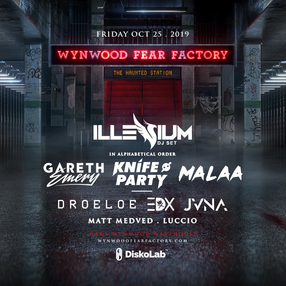 Wynwood Fear Factory Halloween Rave 2019
