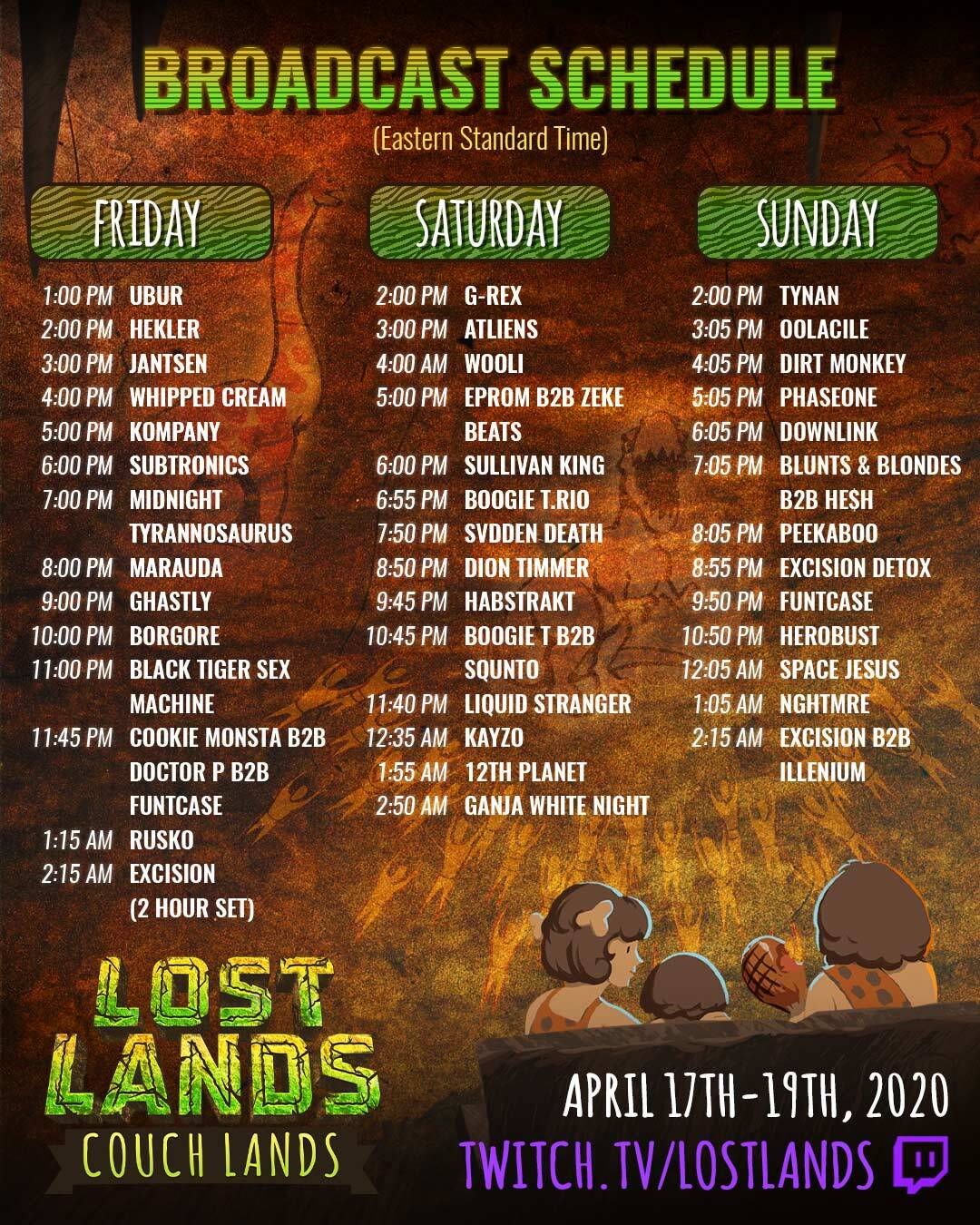 Lost Lands Live Stream