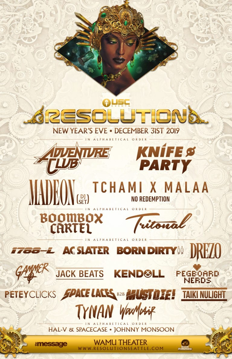 Resolution Lineup 2019