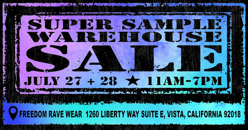 Vibedration's Sample Sale