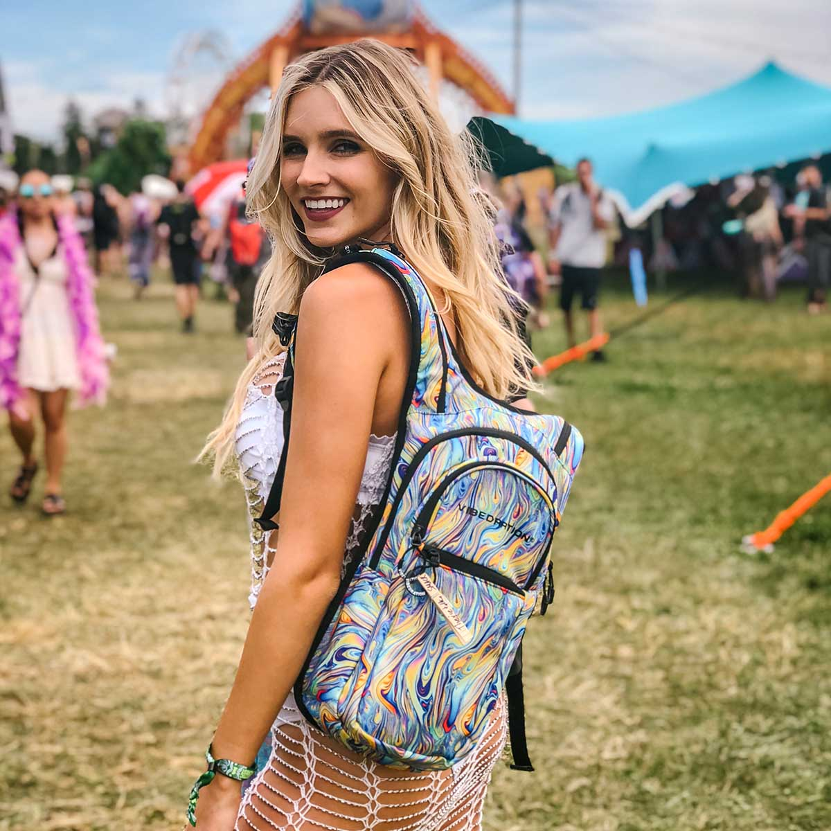 Two Liter Water Pack for music festivals