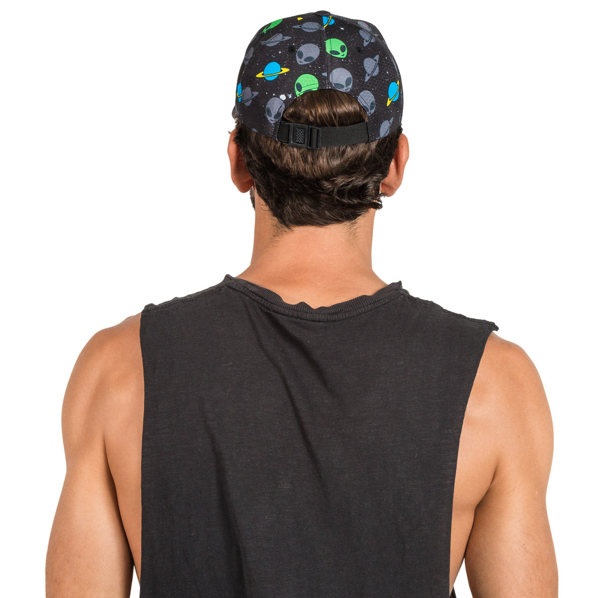 Alien Printed Rave Hat
