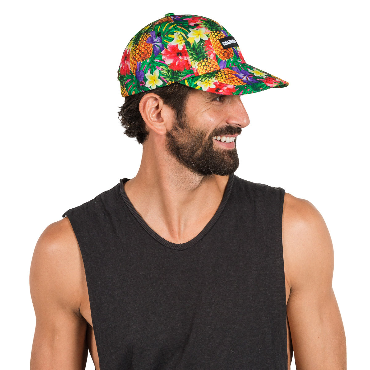 Adjustable Pineapple Printed Hat