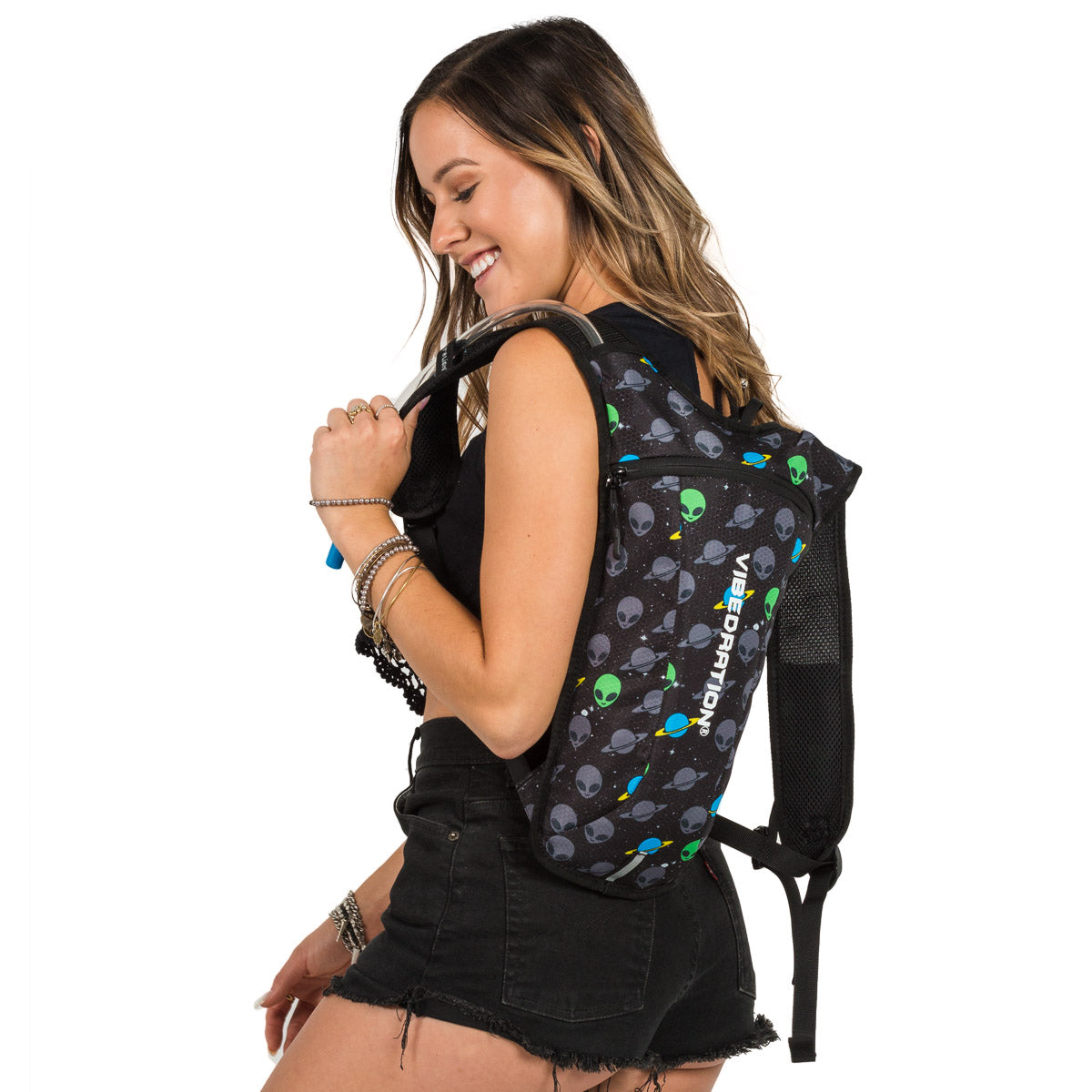 Alien Two Liter Hydration Pack for Raves