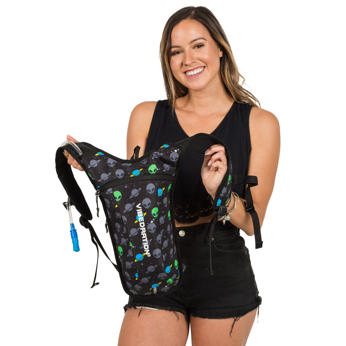 Rave Hydration Pack with Aliens