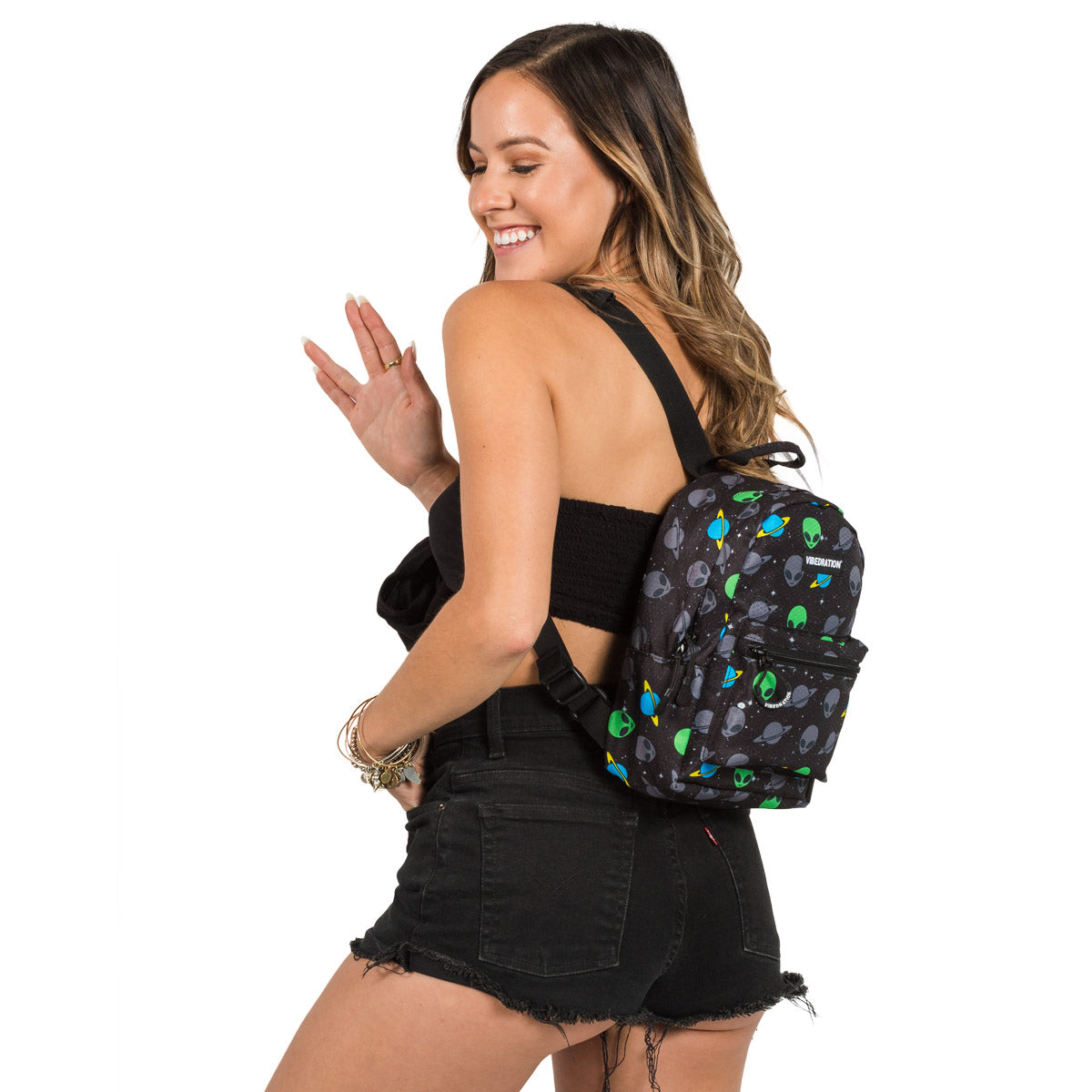 Space Mini Backpack for Girls