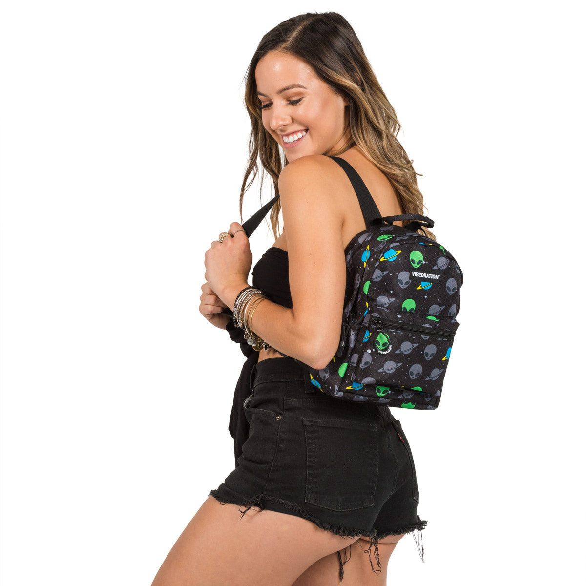 Alien Mini Backpack for Halloween